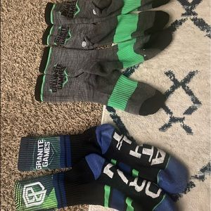 Granite Games Stance Socks